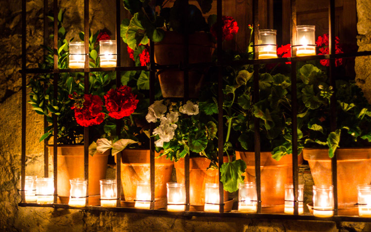 Night of the Candles in Pedraza (2)