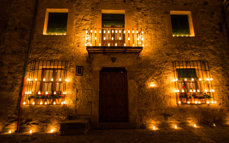 Night of the Candles in Pedraza (3)