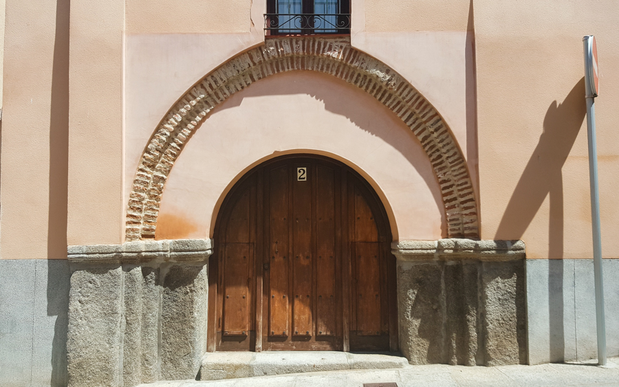 archway of a Synagogue