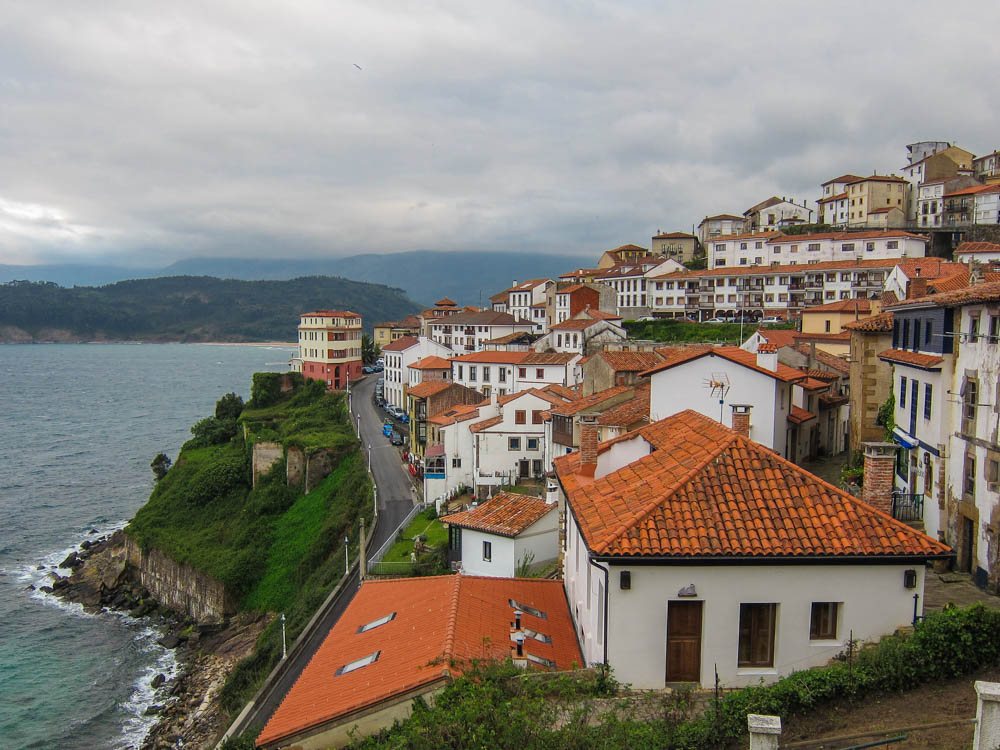 Panoramic view of the city and its coast