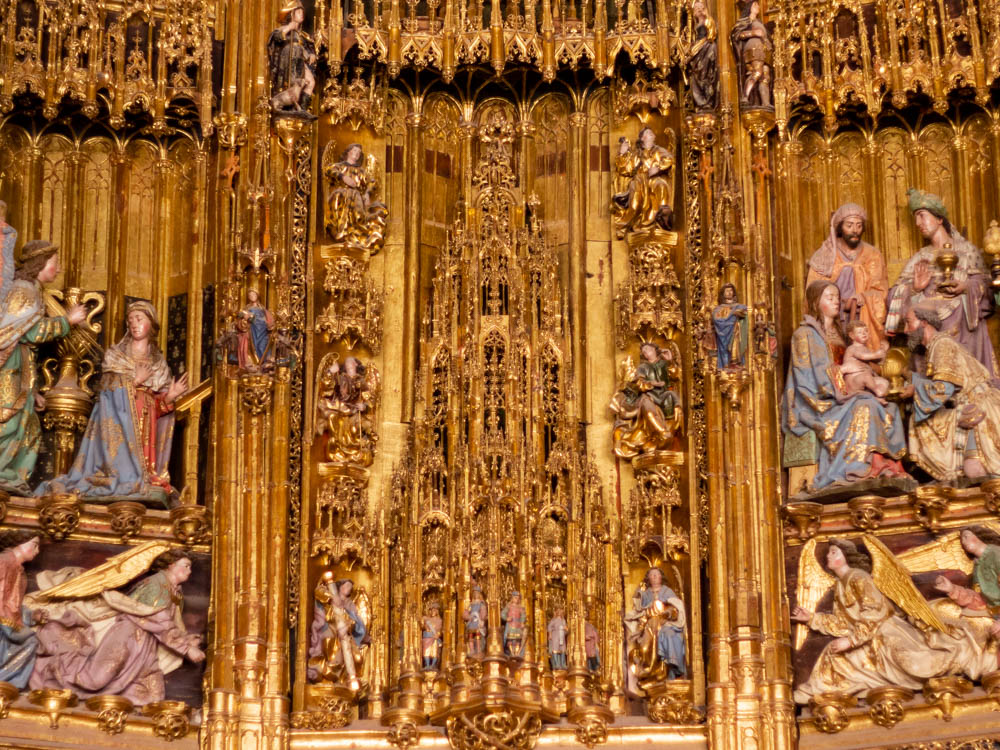 Tabernacle in Toledo's Cathedral