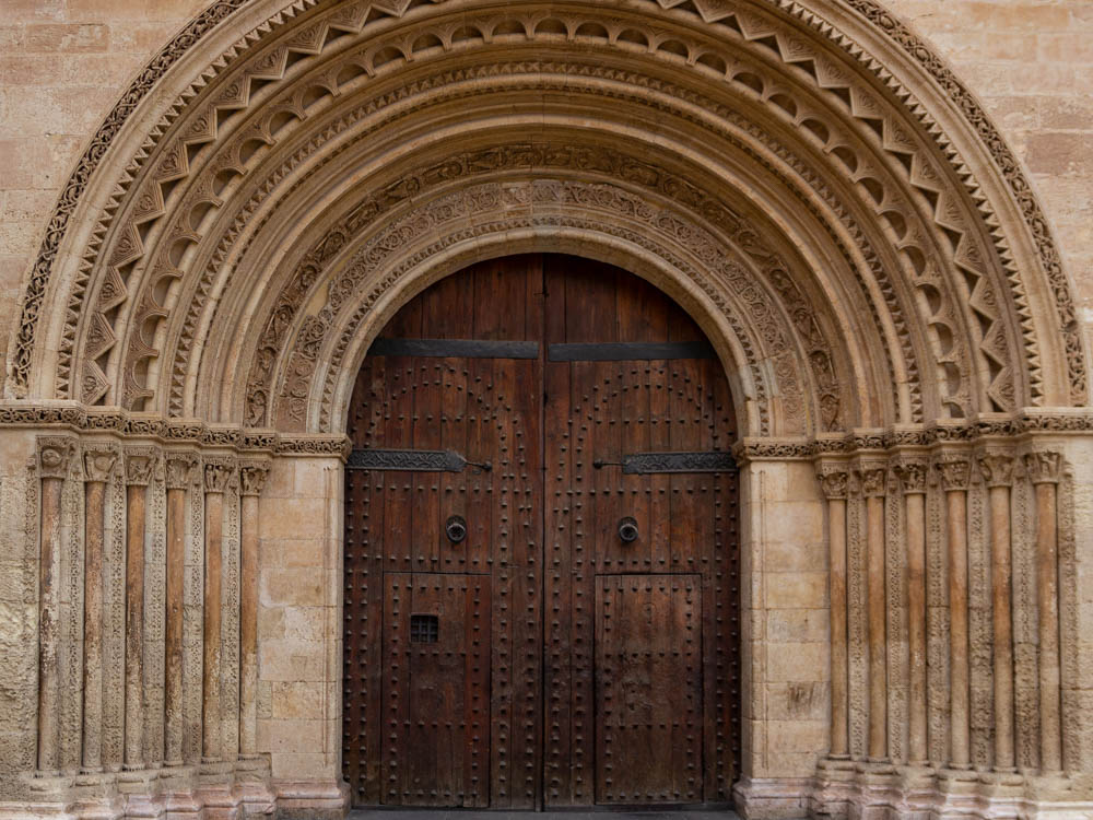 gate of the cathedral